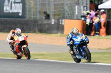 Rins 'on the limit' in 'great race'