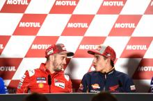 Dovizioso hopes to put Marquez title celebrations on ice