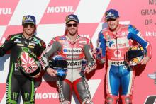 Dovizioso resists satellite stars for Motegi pole