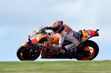 Marquez 'only fast with a lot of risk'