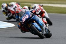 Moto2 Australia: Pasini on pole as title rivals struggle