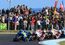 Two mistakes hamper Iannone victory charge