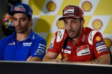 Our best title chance will be next year, says Dovizioso