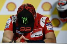 Lorenzo pulls out of Malaysian MotoGP, Pirro steps in