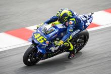 Rossi 'better' with bike 'quite different' to test