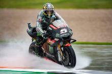 Fall, rain restrains Zarco's charge
