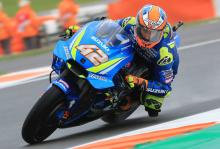 Rins 'didn't know if I was home or in Valencia' after FP4 fall