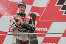 Dovizioso: I wasn't faster in race, some riders were slower