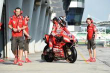 Sepang MotoGP test times - Friday (11am)