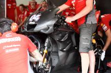 Ducati, Yamaha fairing designs cleared, jig 'working great'