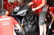 Ducati, Yamaha fairing designs cleared, jig 'working great'