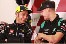 Rossi not surprised by Quartararo pole position at Jerez