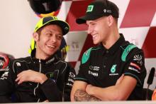 Rossi: Quartararo young enough to be my son!