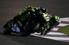Front tyre issue halts Rossi's progress