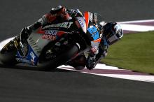Qatar Moto2: Record lap speeds Schrotter to pole