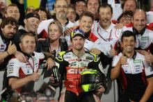 Crutchlow 'dream' podium despite footpeg hitting arse!