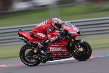 Dovizioso: First a surprise, good feeling from start