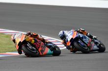 Rookie Oliveira pushing Pol for top KTM honours