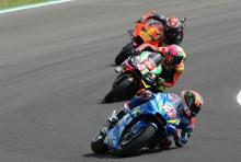 Rins sure of podium potential in 'incredible race'