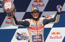 Marquez talks pole, shaking, strain and chain