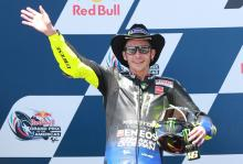 Rossi 'very sorry' as COTA win slips away