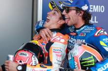 Rins: I was waiting to see if Marquez made any mistakes