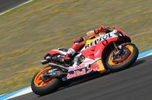 Marquez tercepat di luar blok di MotoGP Catalunya