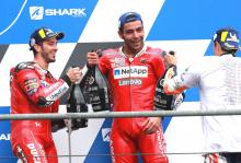 Dovi 'great expectations', Petrucci 'favourite track'