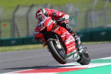 Petrucci smashes Mugello record as Dovi, Rossi miss Q2 cut