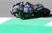 Vinales 'fighting bike' as Yamaha humbled by satellites again