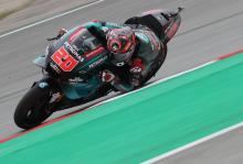 Quartararo mengalahkan saingannya untuk mengatur kecepatan latihan MotoGP Catalunya
