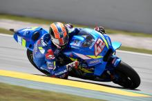 Rins trials new chassis as Suzuki evaluates race debut
