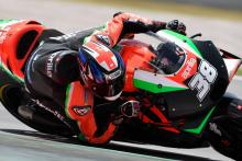 Smith happy to remain at Aprilia, 'early' 2020 bike