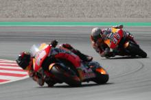 Marquez, Lorenzo talk FP3 encounter