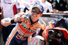 'Lucky' Marquez kept pushing not realising Yamahas were out