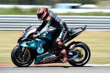 Quartararo scorches Assen for second straight pole position