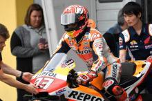 """Marquez """"lebih cepat"""" dengan Honda yang dilapisi karbon tapi belum siap untuk balapan"""