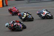 How to race a MotoE bike…
