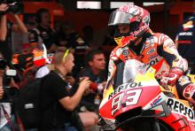"""I shouldn't have done that, too much risk"" – Marc Marquez"