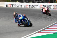 Rins 'really disappointed' at losing podium
