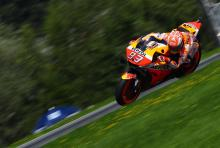 Marquez tops FP2 and Dovi crashes as 1.3s covers field