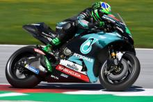 Morbidelli tops Austria warm-up before rain returns