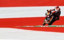 Marquez dominates to take MotoGP pole position record in Austria