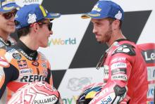 Marquez: First target is to finish in front of Dovizioso