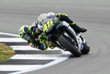 Rossi gets lap back, good start, 'close to perfect' track