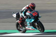 Engine issue costs Quartararo front row tilt