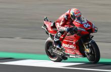Dovizioso 'finds way' after disastrous morning