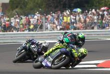 Rossi searches for missing grip as rostrum drought continues
