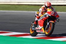Marquez in control in Aragon MotoGP FP1
