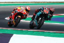Quartararo: Fighting Marquez best moment of my life